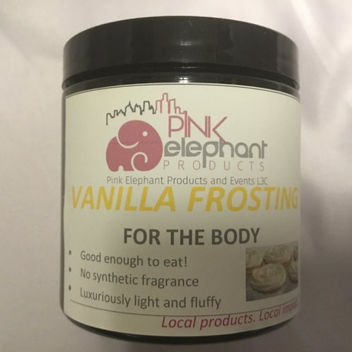 Vanilla Frosting Body Mousse