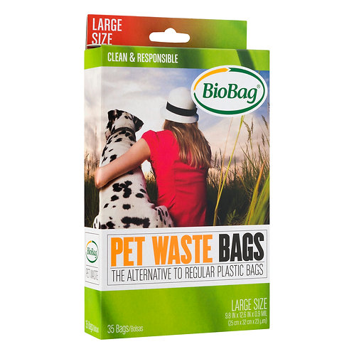 Compostable Pet Waste Bags, Large