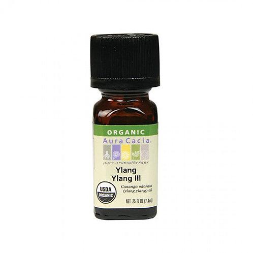 Organic Ylang Ylang III Essential Oil