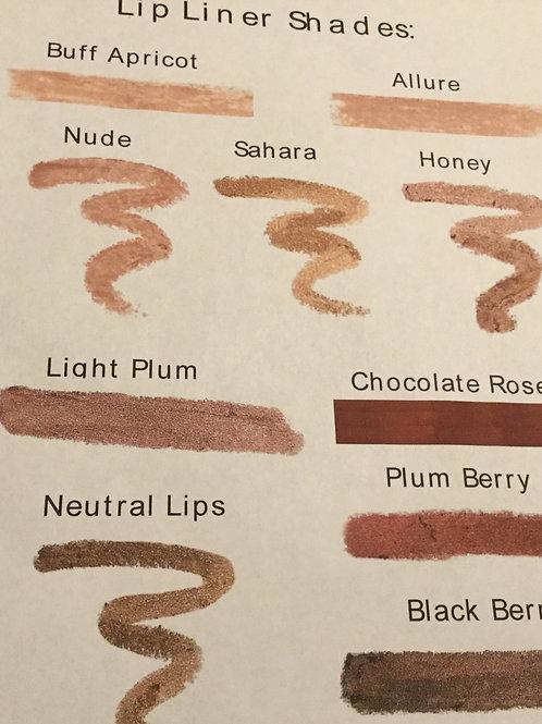 Organic Vegan Lip Liners