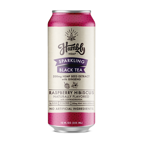 Hemp Sparking Tea - Raspberry Hibiscus