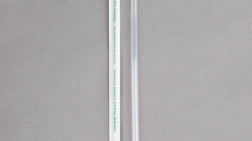 "Compostable 7.75"" PLA Straws"