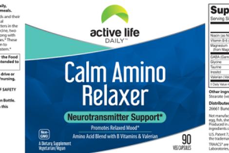 Calm Amino Relaxer
