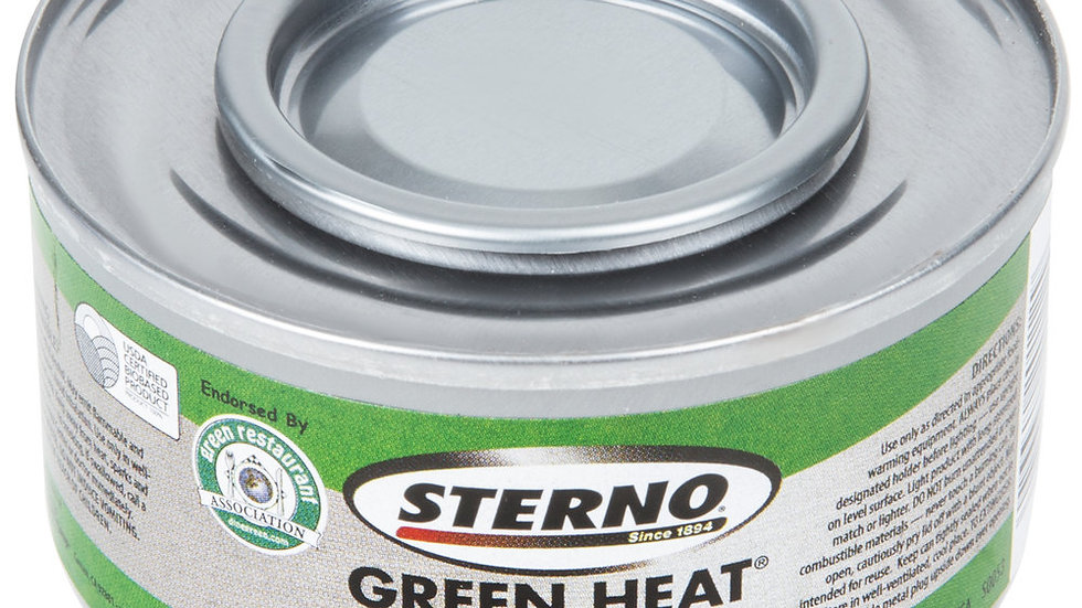 Sterno Green Heat Chafing Dish Fuel