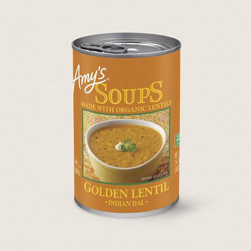 Indian Dal (Golden Lentil Soup)