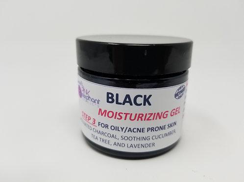 Black Facial Moisturizing Gel for Oily/Acne Prone Skin