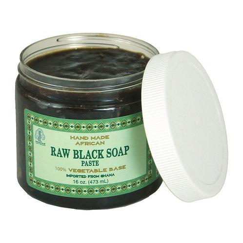 Ghanian Raw Black Soap Paste
