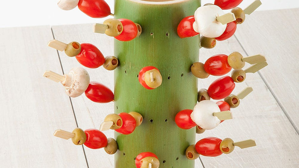Bamboo Appetizer Tower
