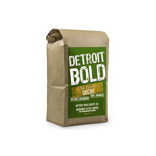 Detroit Bold Decaf Coffee