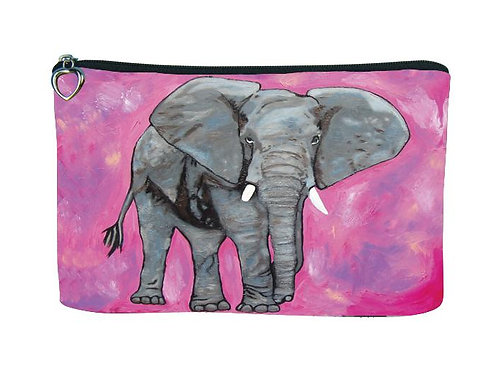 'Kelly' Elephant Cosmetic Bag