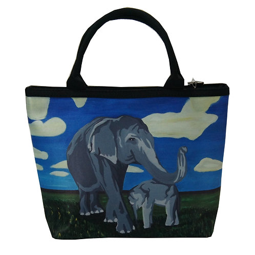'Gentle Giants' Elephant Small Purse
