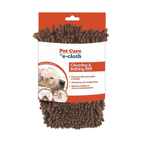 Pet Cleaning and Bathing Mitt