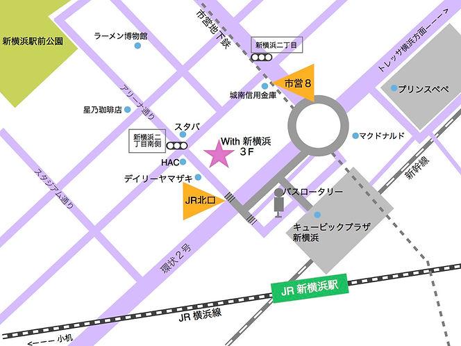 BUZZ 新横浜 MAP
