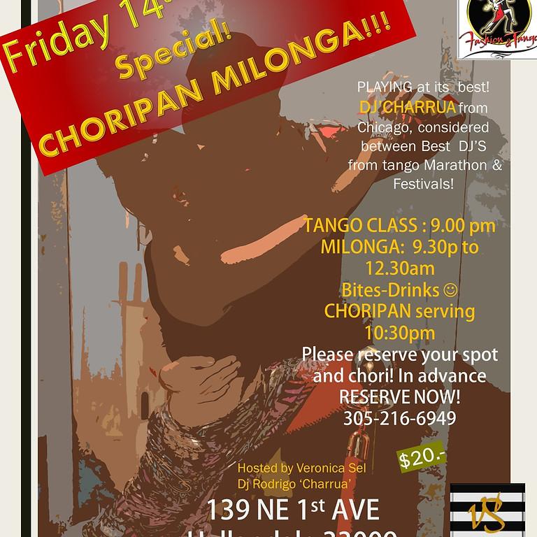 LOS LEONES' Special edition Choripan milonga!
