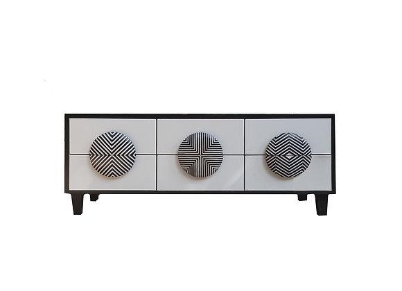 Zulu Buttons Cabinet