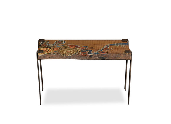 Aussie Wood Side Table