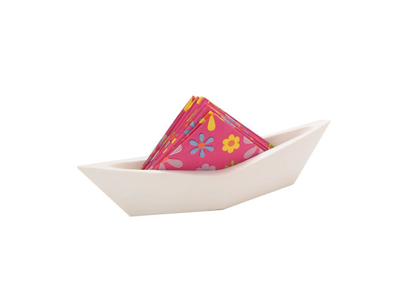 Sail Boat Tissue Holder