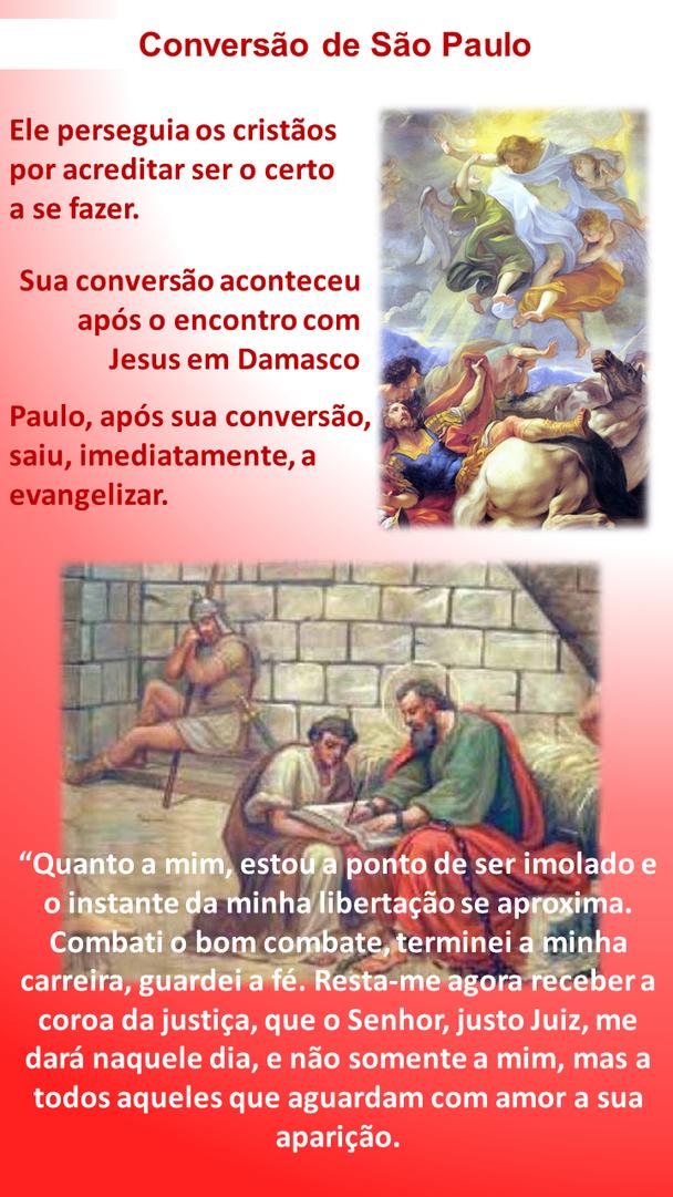 São Paulo Apóstolo - Mártir da Igreja