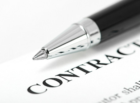 Doing business without a contract is a no-no