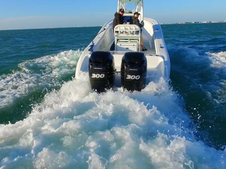 2016 Yellowfin 29 with twin 300hp verados