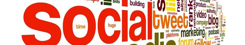 social media header clipart