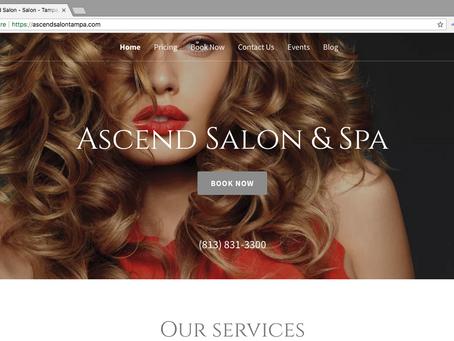 Hair salon gets digital make-over