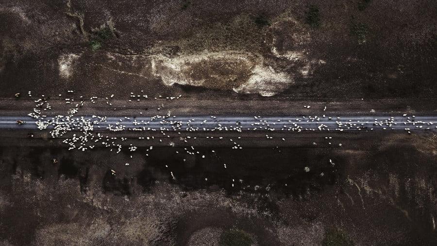 Hjalparfoss, Iceland Dronestagram_Eaglew