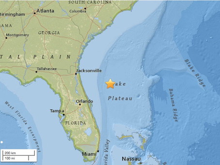 5th Earthquake in Florida, Is This The End?