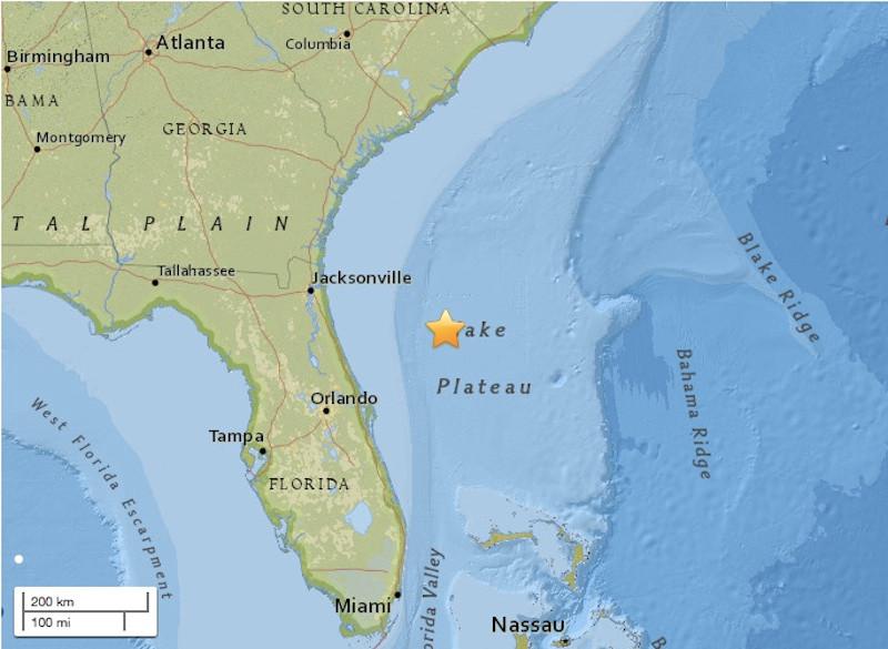 5th earthquake in 3 weeks shakes Alabama-Florida state line
