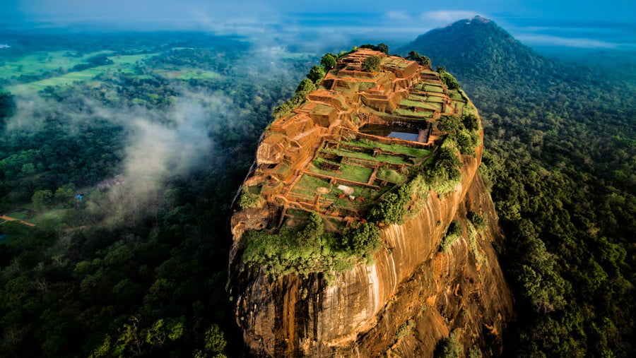 Sigiriya, Sri Lanka jcourtial_Dronestagr