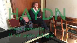 Joseph Haydn: Piano concerto in D major, 2nd movement