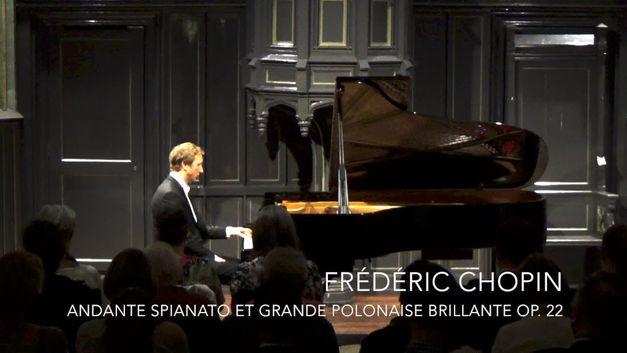 Frédéric Chopin: Andante spianato et Grande Polonaise brillante op. 22