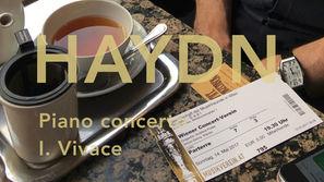 Joseph Haydn: Piano concerto in D major, 1st movement
