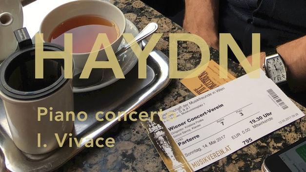 Joseph Haydn: Klavierkonzert in D-Dur, I. Satz