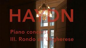Joseph Haydn: Piano concerto in D major, 3rd movement