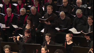 news coverage by © canal alpha, March 2019  Georg Gebel: St John Passion