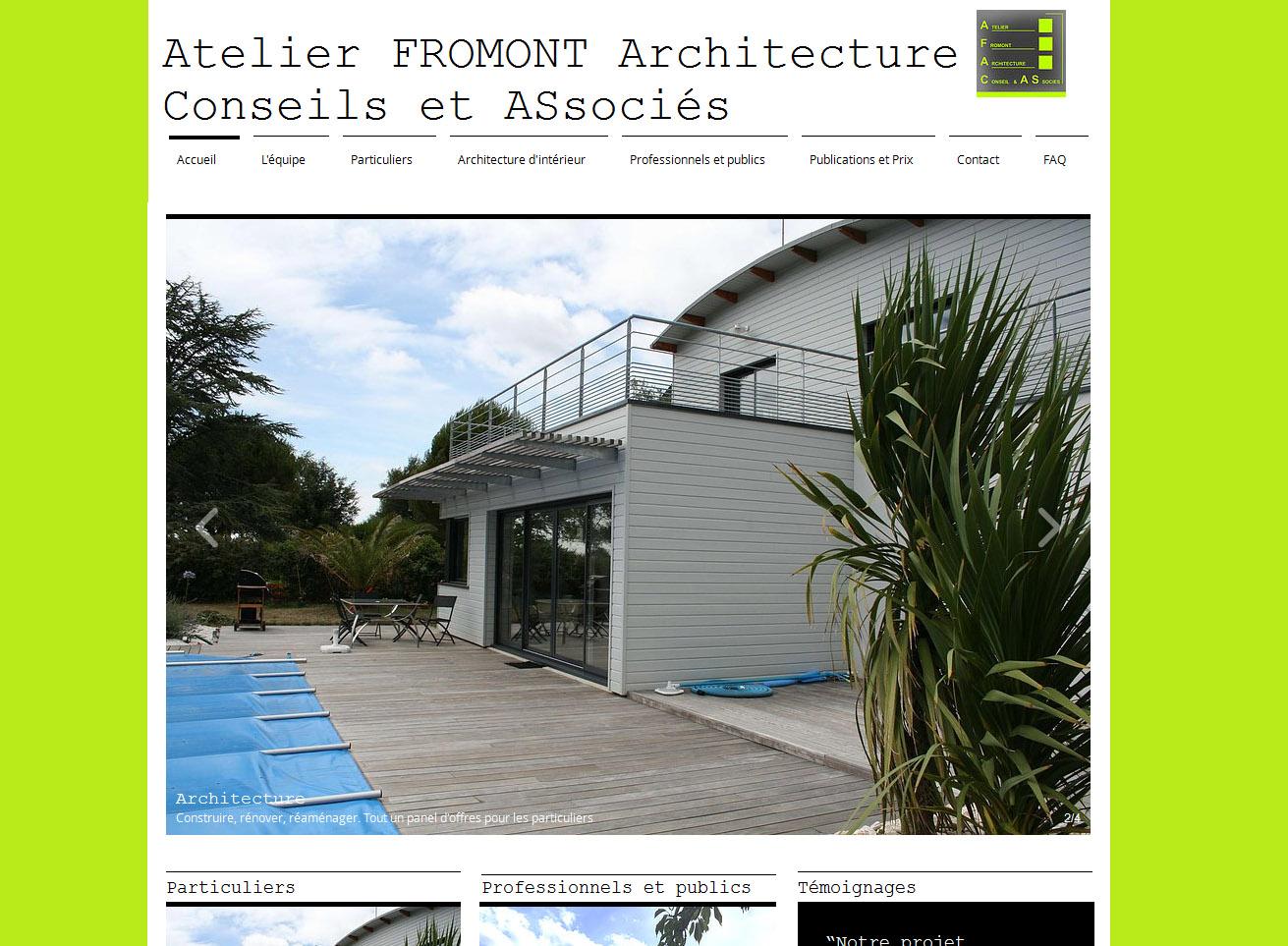 architecte vannes atelier fromont architecture. Black Bedroom Furniture Sets. Home Design Ideas