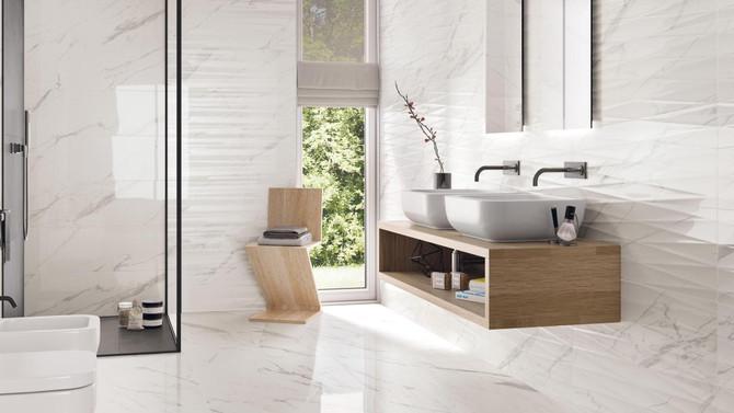 Carrelage italien pour la salle de bain