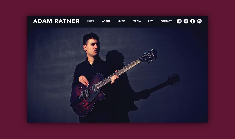 Adam Ratner - Website