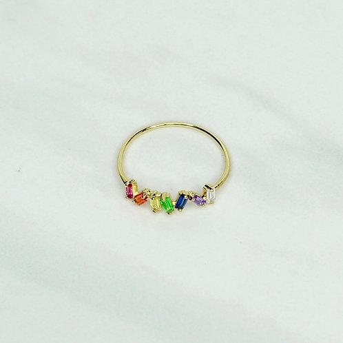 Petite Rainbow Ring