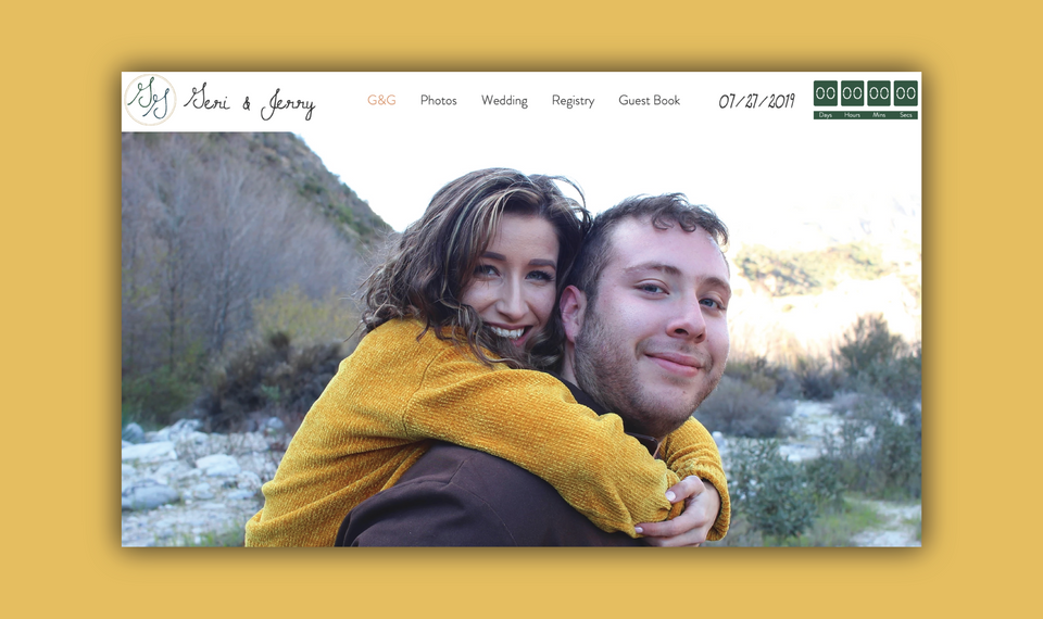 G&G Wedding - Website