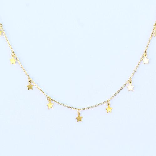 Gold Star Neckalce