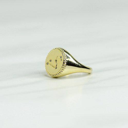 Scorpio Signet Ring