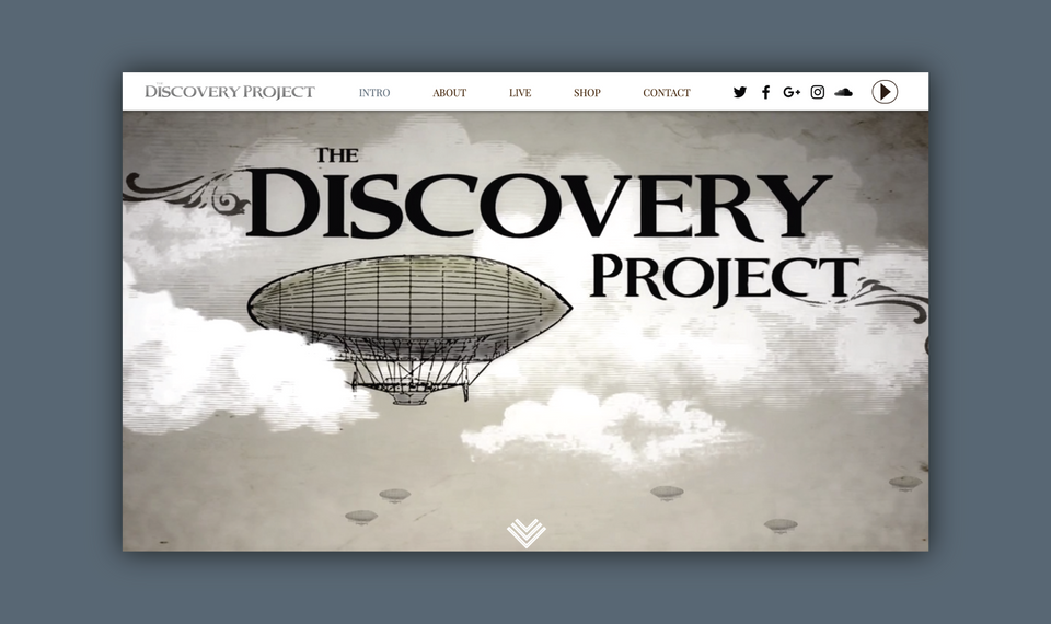 Discovery Project - Website