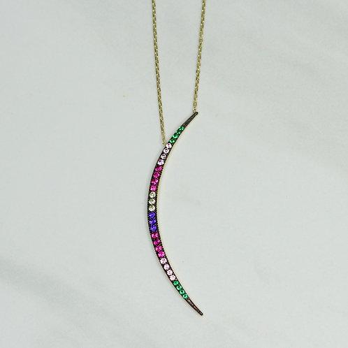 Sherbert Crescent Necklace