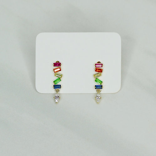 Petite Rainbow Earrings