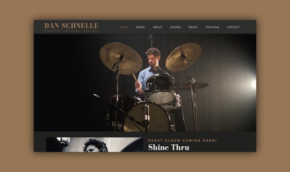 Dan Schnelle - Website