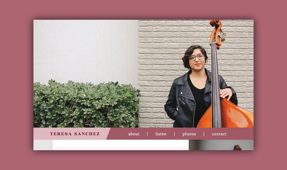 Teresa Sanchez - Website