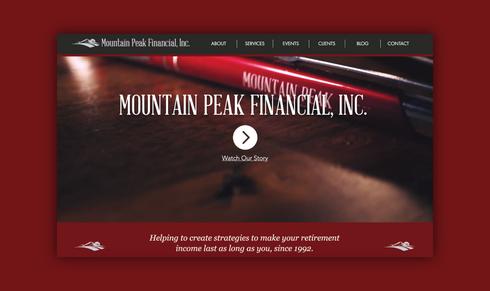 Mountain Peak Financial - Website