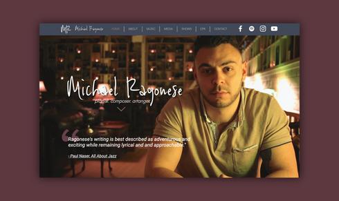 Michael Ragonese - Website